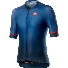 Castelli Aero Race 6.0 Maglietta a maniche corte Uomo, blu